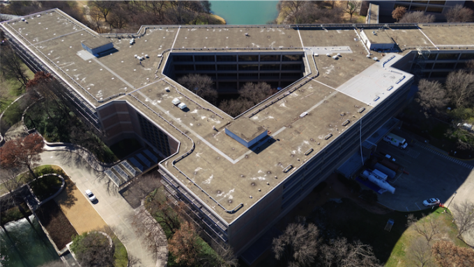 Frito Lay Corporate Headquarters Roofing