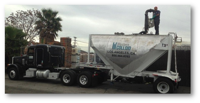 Western Colloid Tanker Delivery