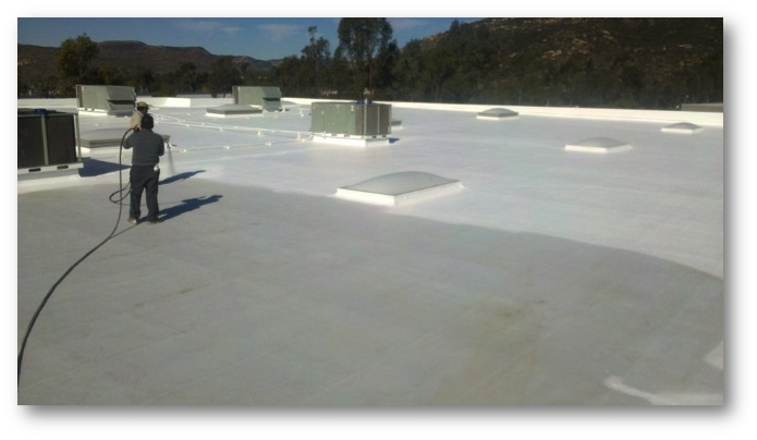 Western Colloid White Gray Roof