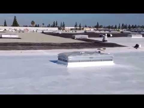 Recoating A Foam Roof