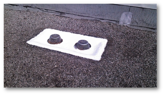 Western Colloid Gravel Roof Drains