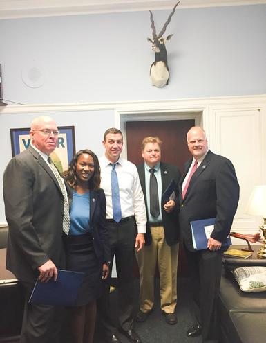 Western Colloid Visits Capitol Hill