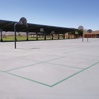 Cool Pavement Coating Systems