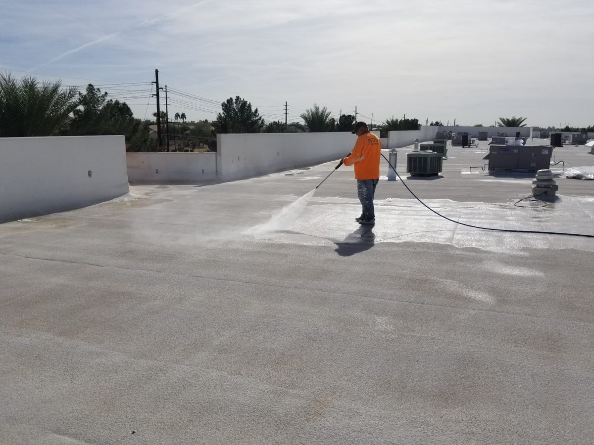 Recoating A Foam Roof Do S And Don T S Western Colloid