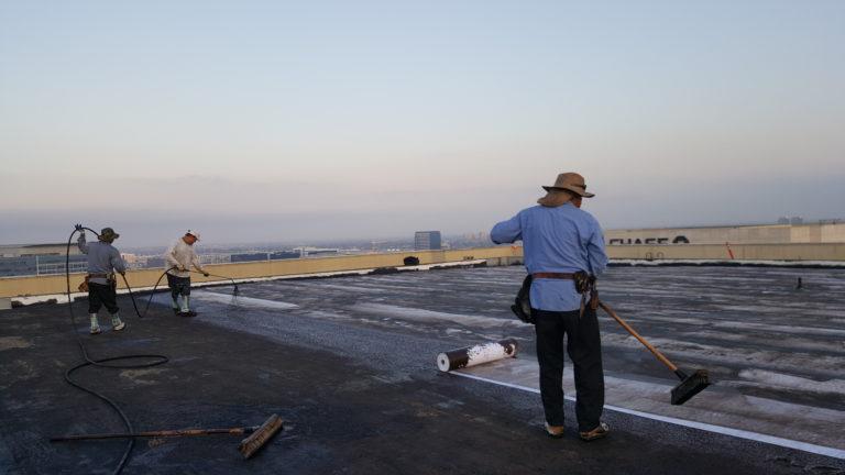 Work begins on installation