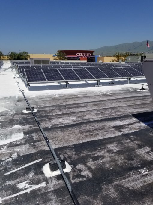 California Department Store Solar Retrofit