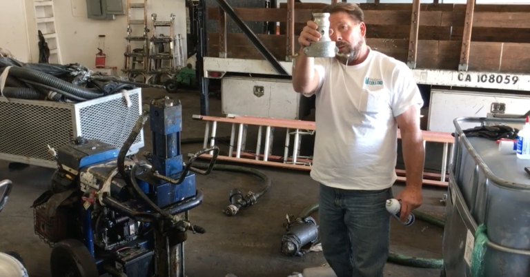 TRAINING TIPS - Prepping your spray pump