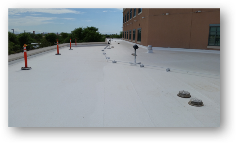 roof repair system for hospitals assisted-living