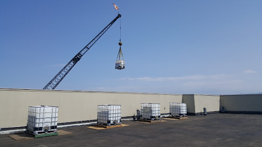 hospital roof system
